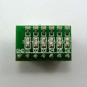 Image 4 - 5 pièces DC 3 12V 6 bits multicolore LED carte pour Arduino DUE UNO MEGA2560 MEGA Leonardo Tre zéro Ethernet bouclier 3d imprimante
