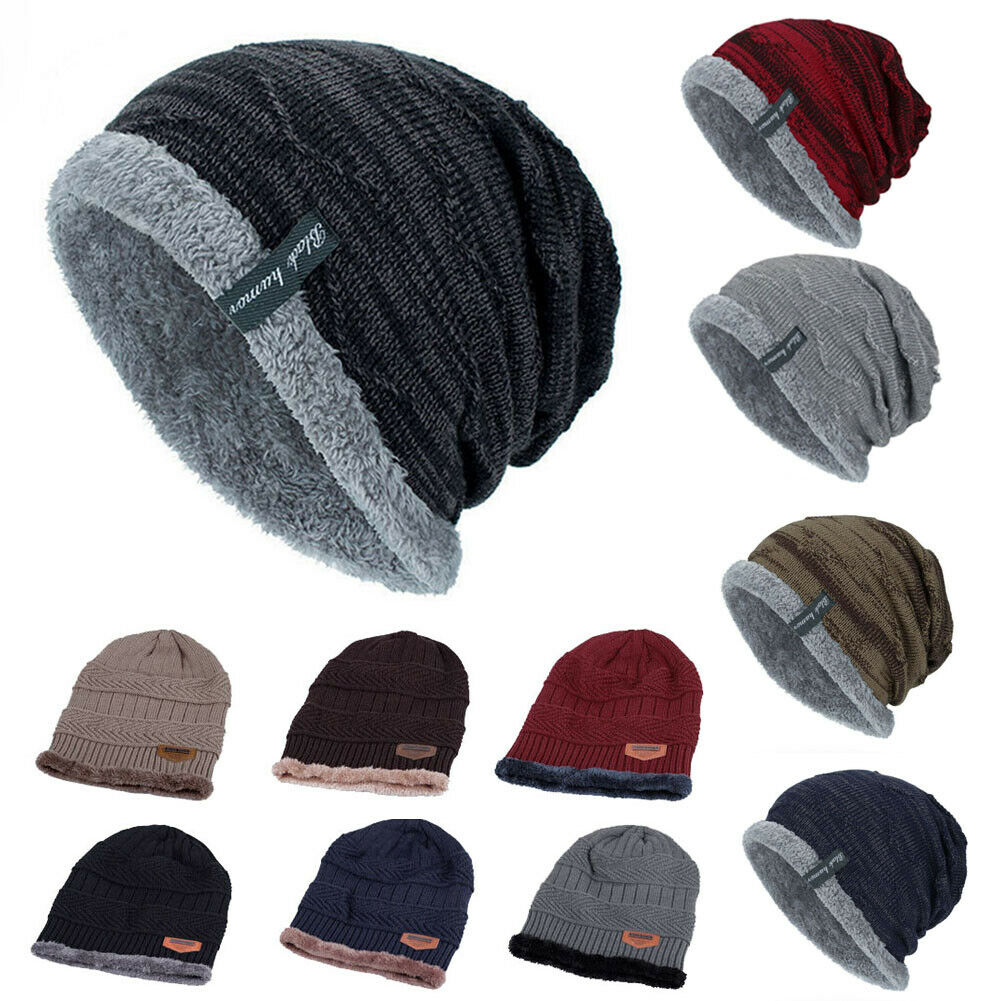 USA Truth Cap Men Winter Summer Serious Style Beanie Hats Ski Slouchy Hat