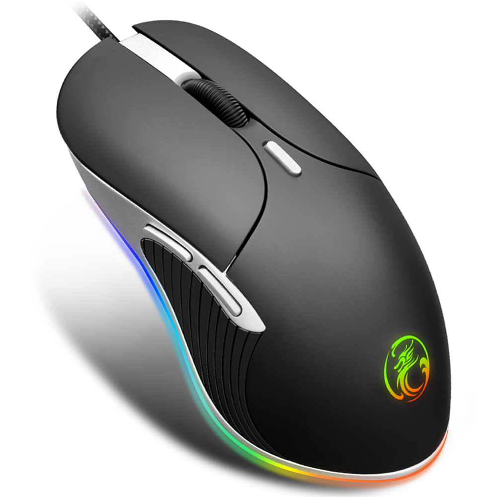 Gaming Mouse Gamer Computer Mouse Gaming Professional Mouse Wired Ergonomic Mause 6400DPI Gaming Mause Cable USB PC Game Mice