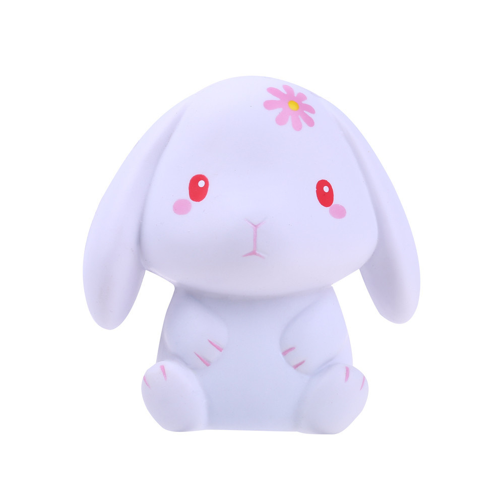 New Cartoon Happy Bunny Decompression Animal Toy Children's Home Decoration Relieve Stress Cure Gift Creative Anxiety Toys#A