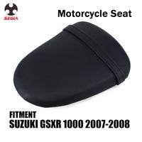 دراجة نارية دراجة عادية الخلفية الركاب وسادة غطاء مقعد من الجلد لسوزوكي GSXR1000 GSX1000R 2007 2008