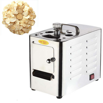 Electric Slicer Consumer And Commercial Ginseng  Gastrodia Sanqi Chinese Herbal Medicine Cutting Equipment Household Appliances 1