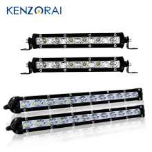 7/13Inch 12V 24V Off Road LED Bar Spot Flood LED Light Bar/Work Light for Truck 4X4 UAZ 4WD ATV Car Barra LED Driving Fog Lamp