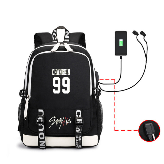 STRAY KIDS THEMED BACKPACK (8 VARIAN)