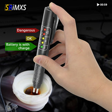 Brake Fluid Tester 5 Led Oil Quality Check Pen Universal Brake Fluid Tester Liquid Digital Tester Vehicle Auto Accessories