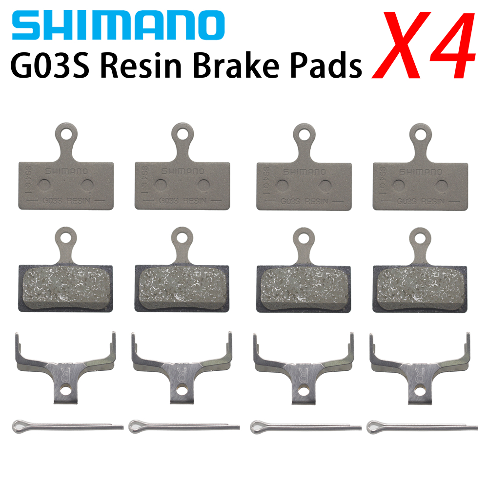 4 Pair SHIMANO  G01S/G03S  Resin Disc Brake Pad For BR-M9020/M8000/M7000/M6000/M8100/M7100