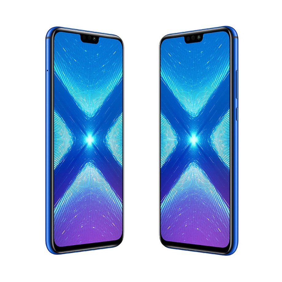 Honor 8X 6.5 inch Mobile Phone 4GB+64GB Android 8.1 20MP Octa Core Screen Fingerprint ID 3750mAh Battery Multiple Language Phone