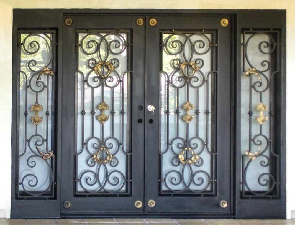 Shanghai Hench Brand China Factory 100% Custom Made Sale Australia Custom Iron Doors