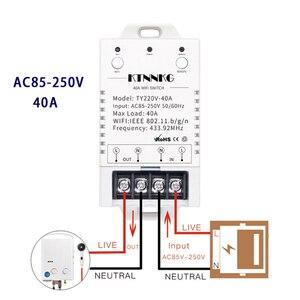 Image 1 - Miفولفو 40A on off التبديل الذكية APP اللاسلكية التحكم عن بعد AC85V 250 فولت التحكم الكهربائي التبديل