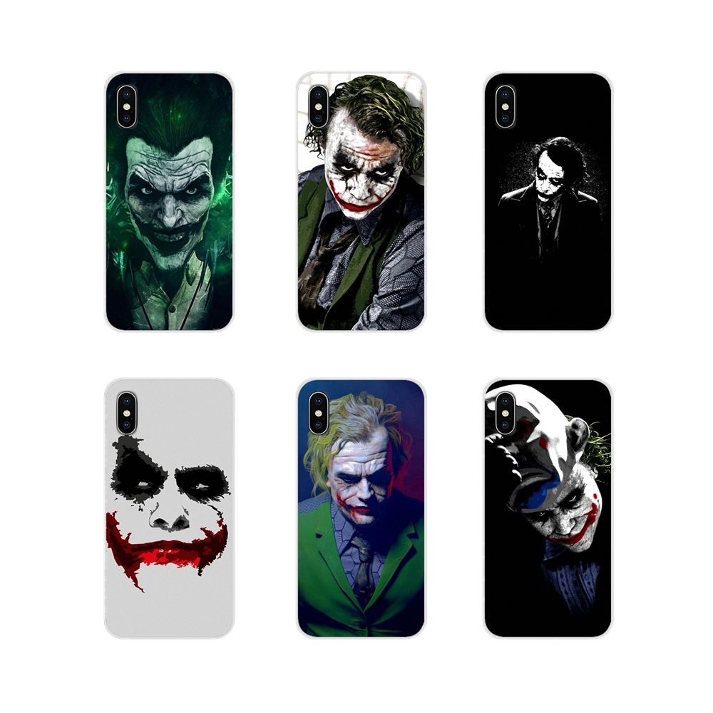 Cell Phone Shell Covers For Apple iPhone X XR XS 11Pro MAX 4S 5S 5C SE 6S 7 8 Plus ipod touch 5 6 The Joker HD desktop wallpaper image