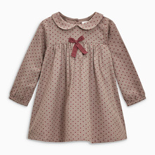Little maven 2-7Years 2020 Autumn Wave Point Dresses For Girls Toddler