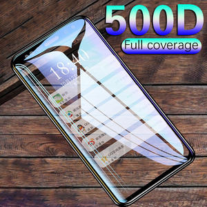 500D Full Curved Protective glass on for Samsung Galaxy S8 S9 S6 S7 edge Plus Screen Protector Tempered Glass on Note 8 9 Film