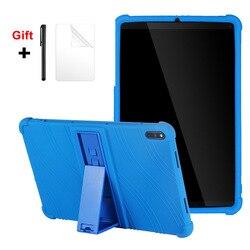 Pour Huawei MatePad T10S 10.8 10.4 T8 2020 T5 T3 M5 lite 8 10 étui enfants amical béquille souple Silicone tablette couverture + film cadeau