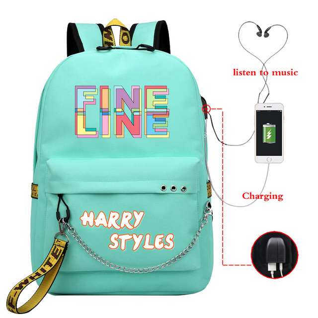HARRY STYLES THEMED BACKPACK (28 VARIAN)