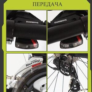 Image 3 - Wolfun fang bisiklet dağ bisikleti yağ bisiklet yol bisikletleri bisikletler tam alüminyum bisiklet 26 kar yağ lastiği 24 hız mtb disk frenler