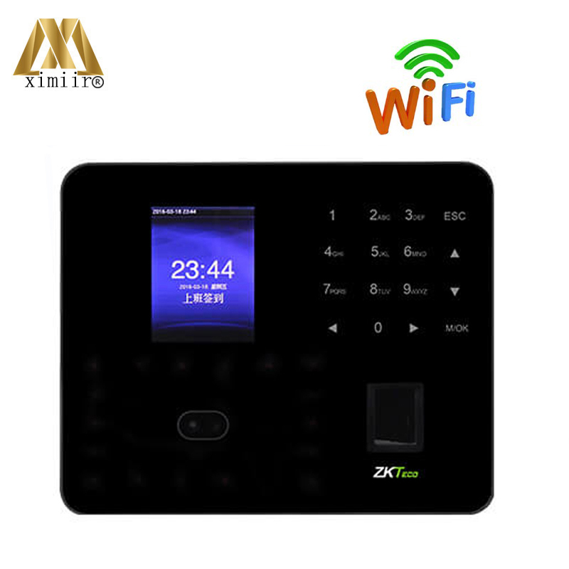 New ZK Time Clock PF1000 Biometric Face And Fingerprint Time Attendance TCP/IP Access Control With WIFI , P2P Cloud Service