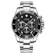 Swiss Luxury Brand Mechanical Automatic Watch Men stainless