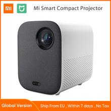 Xiaomi Mijia-przenośny miniprojektor DLP 1920 x 1080 obsługa filmów w 4K Wi-Fi rzutnik LED TV Full HD do domu kina tanie tanio Auto Korekty CN (pochodzenie) 16 09 ANDROID 1920x1080 dpi Throwing 40-200 cali Rzucanie 2 6 kg 0 33 DMD Lenses 60 -120
