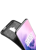 style protective For Oneplus 7T Pro Case Business Style Silicone Rubber Shell Phone Cover For Oneplus 7T Pro Protective Case For Oneplus 7T Pro (5)