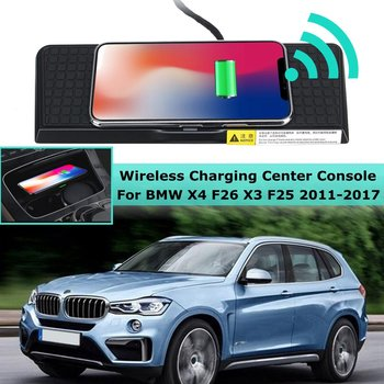 10W Car QI Wireless Charger Fast Charging Center Console