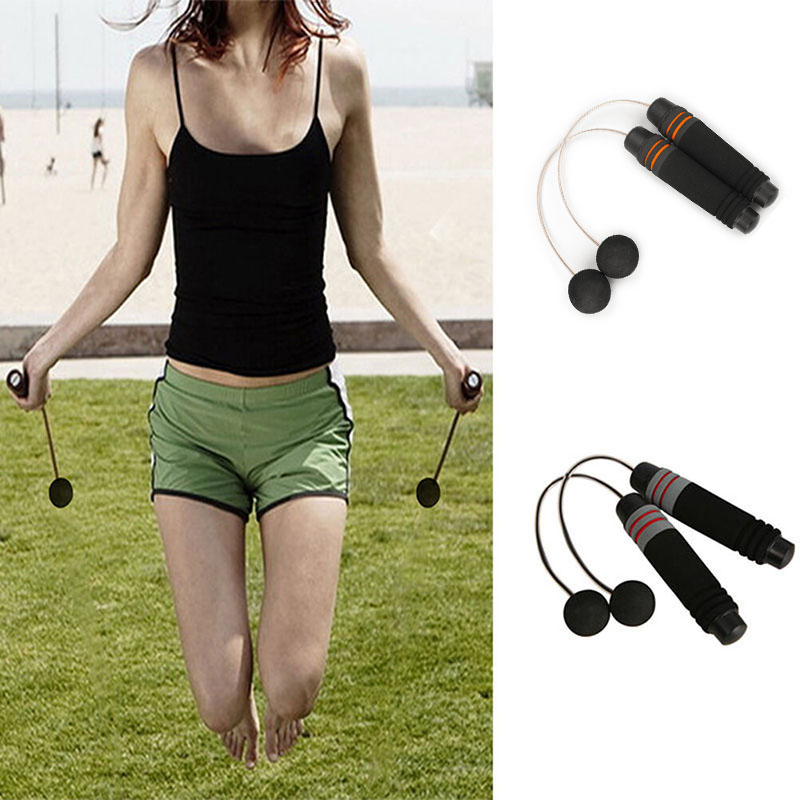 New Cordless Jump Ropes Bodybuilding Wireless Skipping For Arms Gym Fitness Equipment Indoor Home Training Exercise XD88