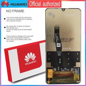 Image 5 - Original 6.15 Display mit rahmen Ersatz für Huawei P30 Lite Nova 4e LCD Touch Screen Digitizer Montage MAR LX1 LX2 AL01