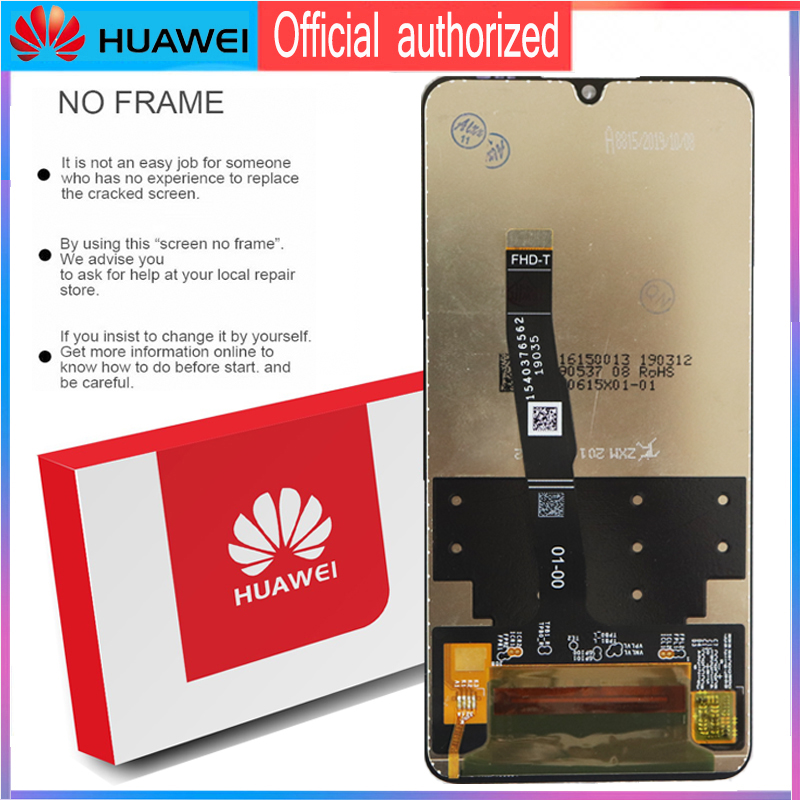 Image 3 - Original 6.15 Display with frame Replacement for Huawei P30 Lite Nova 4e LCD Touch Screen Digitizer Assembly MAR LX1 LX2 AL01-in Mobile Phone LCD Screens from Cellphones & Telecommunications on