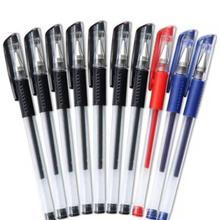 2 4 6 8 10 Pcs penna Gel inchiostro rosso blu nero 0 5mm scrittura penne neutre scuola per studenti forniture per ufficio strumento di cancelleria penne Gel cheap CN (Origine) Gel Pen inchiostro medio Penna della scuola dell ufficio Normale Di plastica