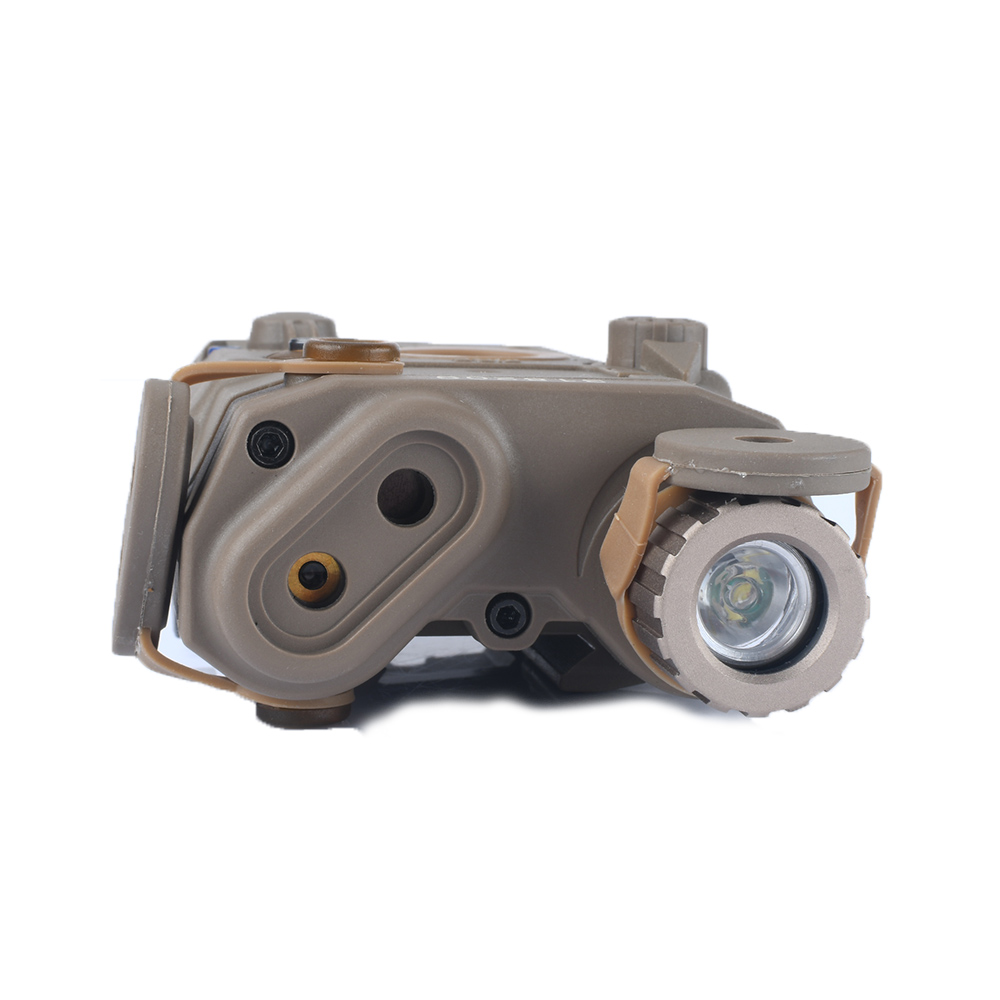 tático arma laser vermelho luz branca caça rifle bateria caso