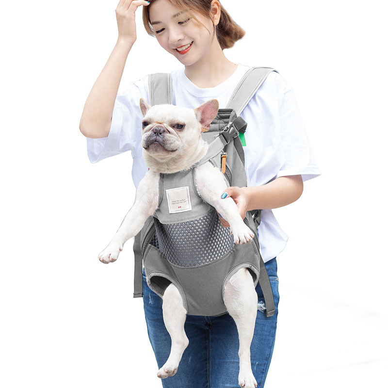 Animais de estimação mochila transportadora para cães gato frente viagem saco do cão transporte para animais pequeno médio cães bulldog filhote de cachorro mochila para perro