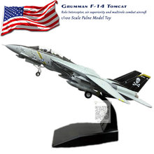 3pcslot Wholesale AMER 1100 Scale USA Grumman F-14 Tomcat Fighter VF-84 Jolly Rogers Fighter Diecast Metal Plane Model Toy