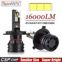 Braveway h7 светодиодный ные автомобильные лампы h4 9005 hb3