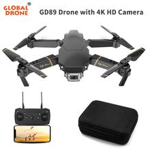 4K Drone RC drony z kamerą HD zabawki dla dzieci zabawki-helikoptery dla dzieci dorośli Mini Dron Dron jako noworoczny prezent VS E58 E520 cheap Z tworzywa sztucznego Metal CN (pochodzenie) EXA GD89 Ready-to-go 12-15 minutes HELICOPTER 3 x 1 5 AA battery (NOT Included)