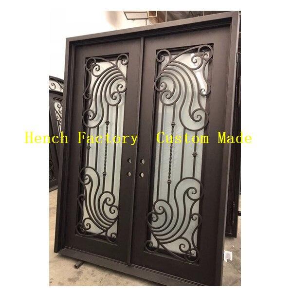 Shanghai Hench Brand China Factory 100% Custom Made Sale Australia Iron Door Gates For Home
