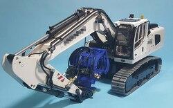 1/14 RC fernbedienung metall hydraulische bagger modell