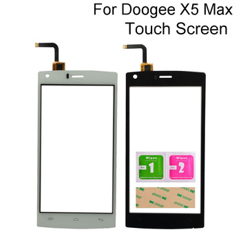 Mobile Touch Screen For Doogee X5 Max \ X5 Max Pro Touch Screen Touch Digitizer Panel Glass Repair Phone Tools 3M Glue