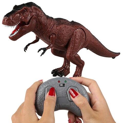 movel andando rugido dinossauro animais de controle remoto luz eletronica som brinquedo das criancas do