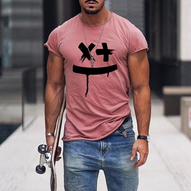 Tshirts Men Smile Print  2