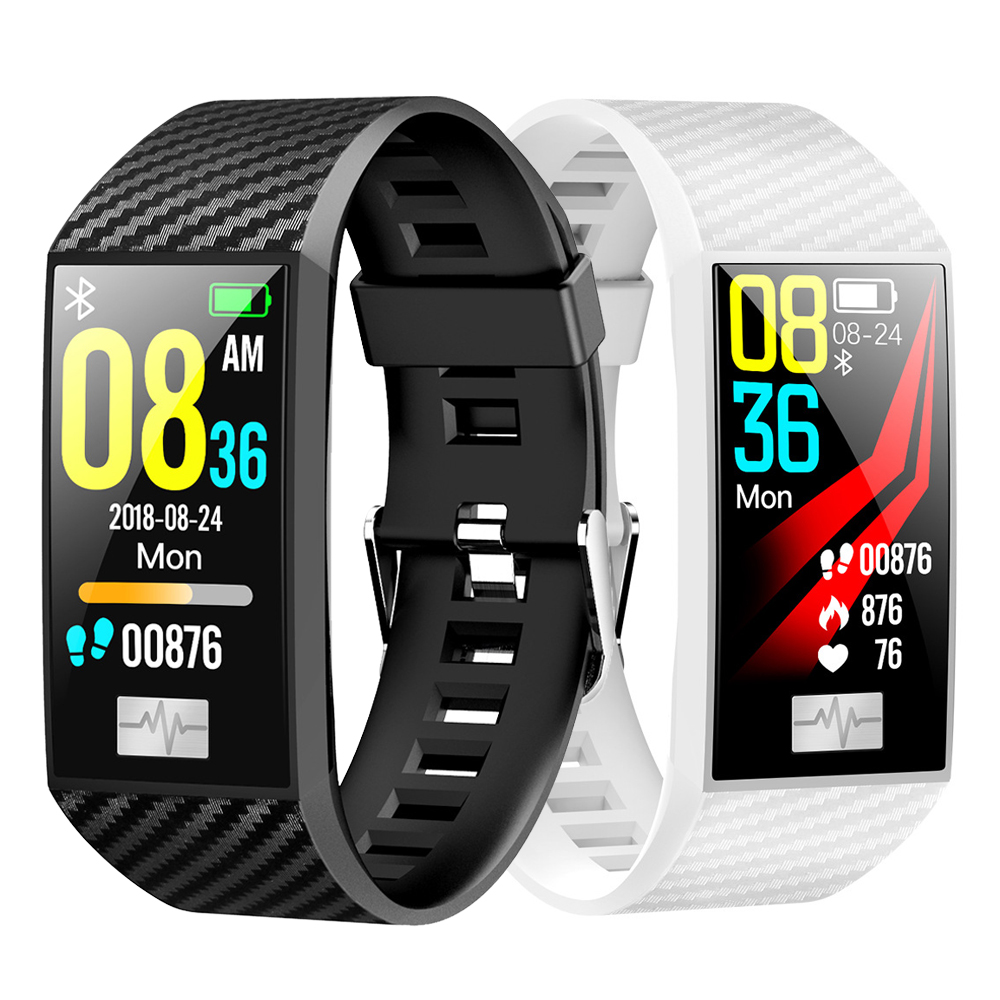 New <font><b>DT58</b></font> Waterproof <font><b>Smart</b></font> Bracelet ECG Heart Rate Blood Pressure Monitor Fitness Tracker For IOS Android Wristband Sport <font><b>Watch</b></font> image