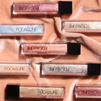 Focallure eyeshadow Glitter Waterproof Eyes make up full professional pigment liquid shadow beauty makeup