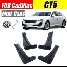 Mud flaps For Cadillac CT5 Mudguards Fenders flap splash Guard Fender Car accessories auto styline Front Rear