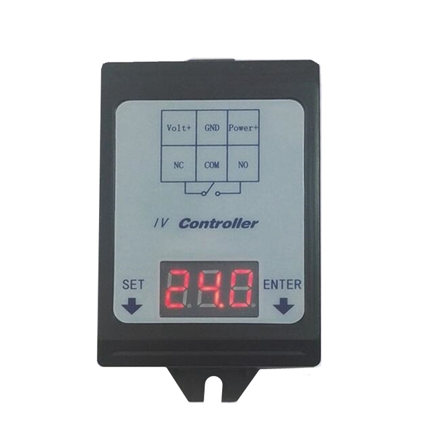 DC voltage detection and control relay 6 80V/48V60V battery charging and discharging timing /30A on off switch