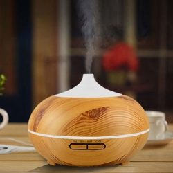 Inteligentny Wifi bezprzewodowy 400Ml zapachowy olejek eteryczny dyfuzor nawilżacz powietrza kompatybilny z Alexa i Google domu Amazon sterowanie głosem w Nawilżacze powietrza od AGD na