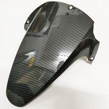 Carbono da motocicleta carenagem roda traseira hugger fender paralama lama respingo guarda para honda cbr954rr cbr 954 rr cbr900 rr 2002 2003