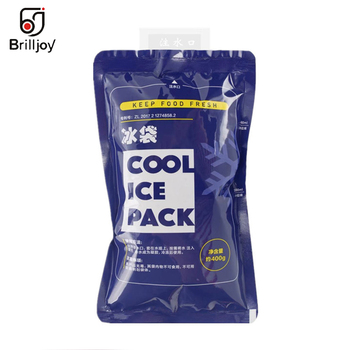 10Pcs Reusable upgrade Ice Bag Lunch Box Food Cans PE Cooler Ice Bag Multifunctional Water Injection Ice Bag Medical Ice Packs silicone hot water bottle cute cat design hand warmers cooler reusable heating ice cooling muscle injury ice compress gift