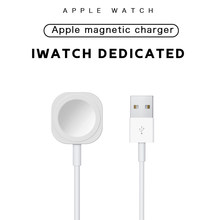 Magnetic Small Charger Compatible for Apple Watch 6 5 4 3 Smart Induction iWatch Charging USB Portable Charger Smart Accessories