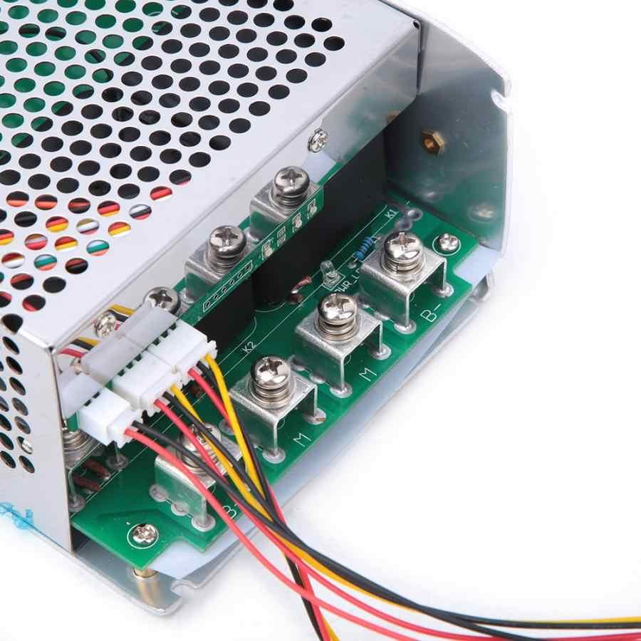 Silnik regulator prędkości XY-1620010-50V regulator obrotów silnika DC 7500W 100A PWM regulator napędu regulator prędkości dla silnika prądu przemiennego