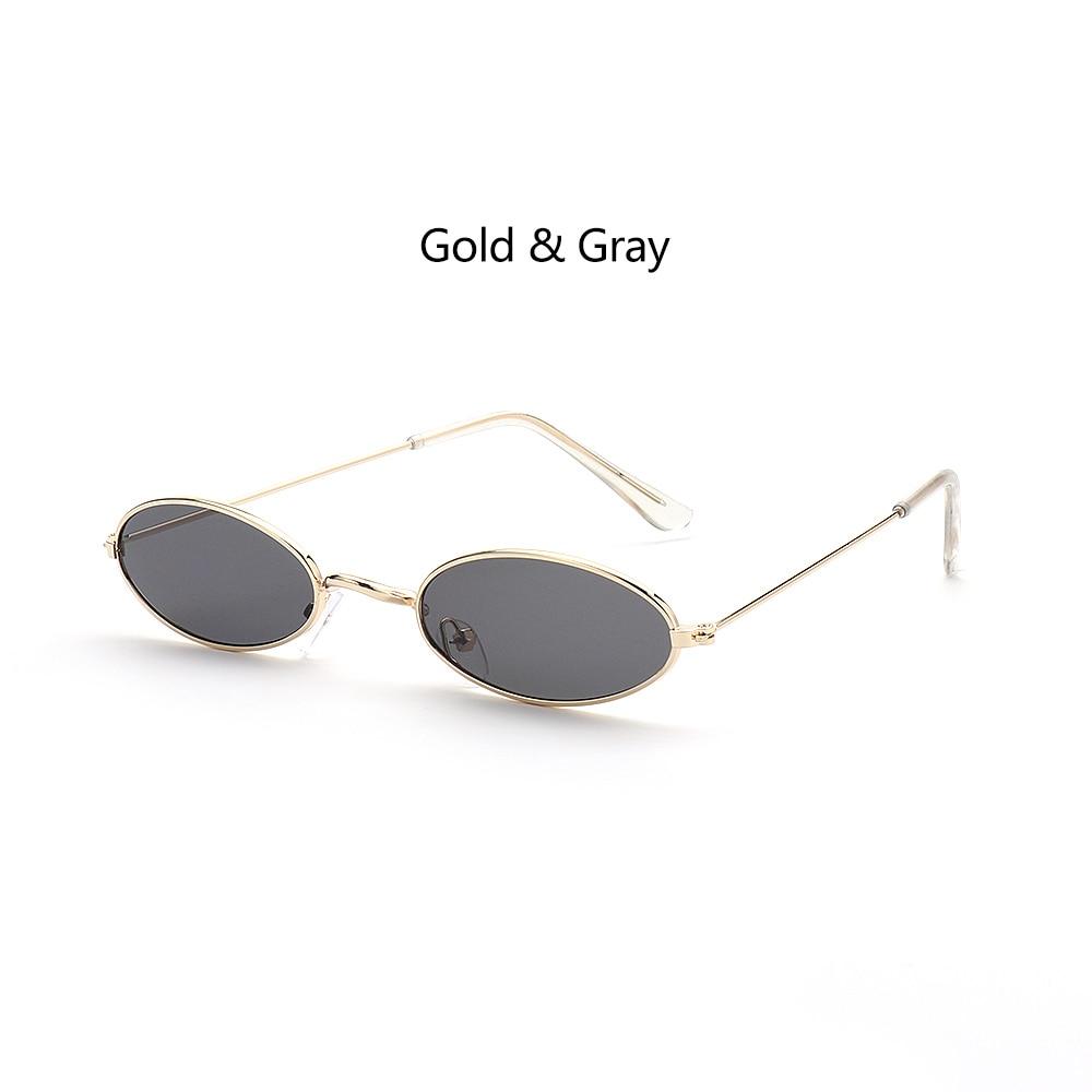 Fashion Vintage Shades Sun Glasses Elegant okulary Retro Small Oval Sunglasses for Men Women Eyeglasses gafas oculos 13
