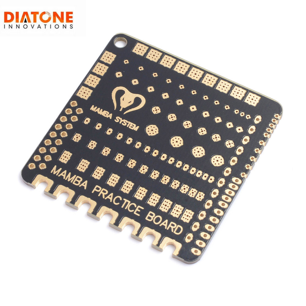Diatone Mamba Welding Soldering Practice Board 49x49x1.6mm For RC Drone FPV Racing Models Multicopter Parts Accessories
