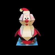 Поделки, скрапбукинг, декоративная бумага, д 'харуки, Накамура, бумажные игрушки, кролик, лягушка, оригами, Киригами, плиэйдж, deavrez, украшения, бумажные игрушки